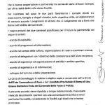 Carta Gemellaggio Carnevale di Fano e Una Grassa Domenica Festa del Carnevale delle Forze di Polizia