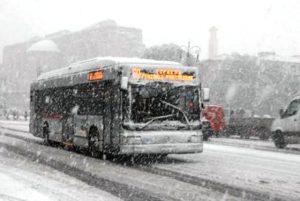 In arrivo altra neve nella capitale dopo il gelo del Burian