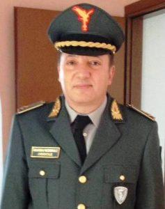 Il dr Piero Fusaglia, Segretario Provinciale ARGOS presso la città di Rieti