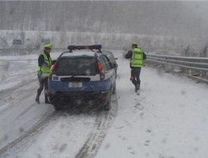 Polizia Stradale in soccorso