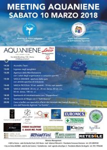 Meeting Aquaniene 2018, Festa dell'Integrazione e dell'Amicizia Sportiva
