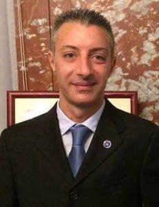Cristian Raponi, Delegato ARGOS Forze di Polizia per la città di Frosinone
