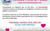 """Maratona di Roma 2018, vieni a correre con l'Associazione ARGOS Forze di Polizia la """"Fun Run - La Stracittadina"""", 4 km di buone azioni e sostieni i progetti per il sociale"""