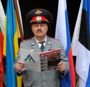 Il Colonnello Vladimir Kislukhin della MVD Militia Russa, Delegato Nazionale Associazione ARGOS Forze di Polizia