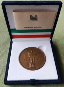 Medaglia d'Oro Camera dei Deputati concessa all'Associazione ARGOS Forze di Polizia