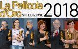 La Pellicola d'Oro, Conferenza Stampa per l'VIII edizione a Roma, Casa del Cinema mercoledì 18 aprile 2018