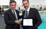 Aquaniene, Festa dell'Integrazione e dello Sport, Premio alle Attività Sociali per Gianluca Guerrisi, servizio di Retesole TV