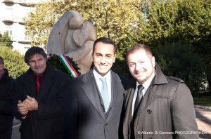 ARGOS - Luigi Di Maio alla ricorrenza Monumento Caduti Forze dell'Ordine e del Soccorso