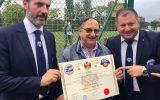 ARGOS Soccer TEAM Forze di POLIZIA, il celebre Ezio Luzzi Presidente Onorario della Nazionale Calcio delle Forze dell'Ordine