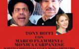 """Spettacoli, """"Il Ritorno"""", omaggio a Franco e Ciccio con Tony Biffi, Marco Flammini e Monica Carpanese, musiche di Germano Taddia, dal 20 al 30 giugno 2018 a Roma, Teatro Arciliuto"""