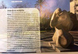 POLIZIA MODERNA, rivista ufficiale della Polizia di Stato segnala anniversario monumento L'Abbraccio ARGOS