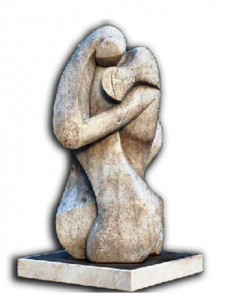 Monumento L'Abbraccio dell'Associazione ARGOS Forze di POLIZIA in ricordo dei Caduti delle Forze dell'Ordine e del Soccorso