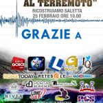 Calcio al Terremoto 25 Febbraio 2017 - ARGOS Soccer TEAM Forze di POLIZIA