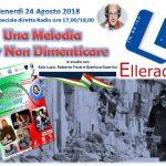 Elleradio diretta Una Melodia Per Non Dimenticare 2018