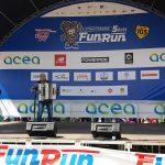 Maratona di Roma 2018 - Fun Run La Stracittadina Circo Massimo - Danilo Murzilli esibizione in fisarmonica