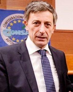 Giorgio Innocenzi, Segretario Generale Nazionale CONSAP