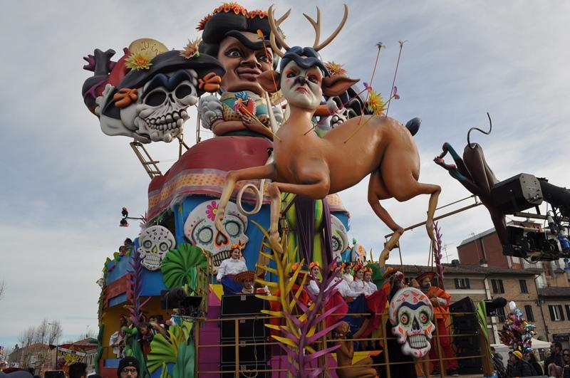 FANO - Pesaro Urbino - Marche. Immagini del Carnevale di Fano 2019