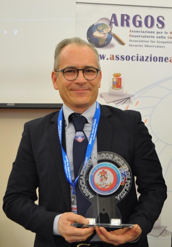 Il direttore dell'Oasi Park di Roma Danilo Melandri della location che ospita in collaborazione Una Grassa Domenica Festa del Carnevale delle Forze di Polizia