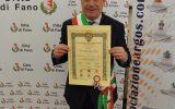Premi e Distinzioni al Merito, Massimo SERI (Sindaco di Fano) nominato Ambasciatore delle Buone Azioni, decreto ARGOS Associazione Forze di Polizia
