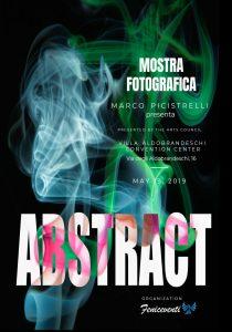 """""""ABSTRACT"""" Mostra fotografica di Marco Picistrelli - 2019 Roma-"""