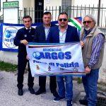 La delegazione Nazionale e Territoriale Rieti dell'Associazione ARGOS Forze di POLIZIA