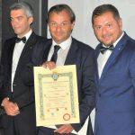 Diploma di Benemerenza e Fedeltà 2019 ARGOS - Comune di Cerchio - Aq - Abruzzo