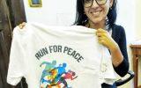 Ministra P.A. Fabiana Dadone - Foto maglia ARGOS Runner TEAM
