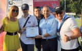 Premio Nazionale Solidarietà e Sostegno al Disagio Sociale per Associazione ARGOS Forze di POLIZIA, consegna la Presidenza delle PGS