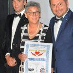 """Diploma di Merito """"un CUORE d'ORO"""" 2019 per il Comune di Scurcola Marsicana - Aq - Abruzzo. Ritira il Sindaco Maria Olimpia Morgante"""