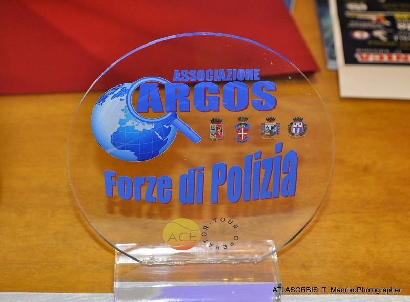 Targa in Vetro ARGOS Associazione Forze di POLIZIA