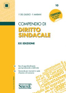 Compendio di DIRITTO SINDACALE - SIMONE