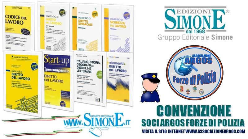 Convenzione Simone - ARGOS Forze di POLIZIA