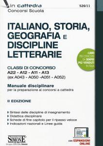 ITALIANO, STORIA, GEOGRAFIA e DISCIPLINE LETTERARIE - SIMONE