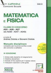 Matematica e Fisica - Simone Edizioni