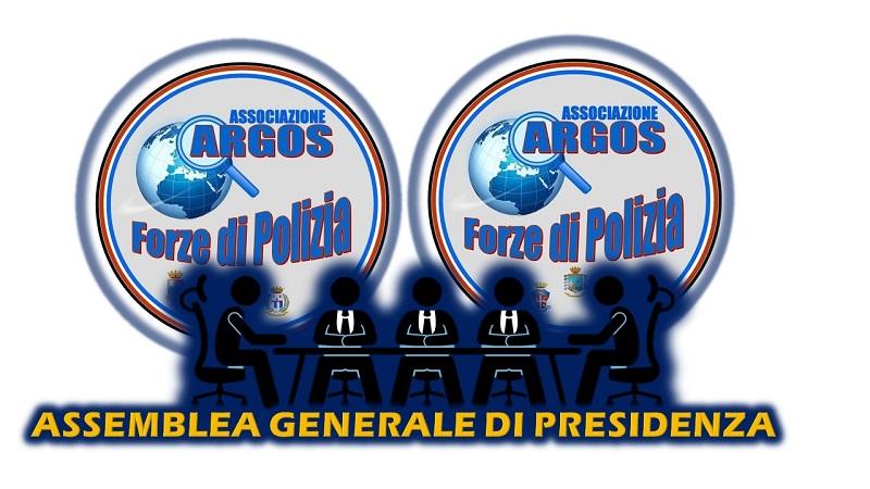Assemblea Generale Presidenza Nazionale ARGOS - Febbraio 2020 - Seconda Convocazione