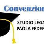 Convenzione Studio Legale Paola Federici