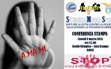 A.MA.MI. Conferenza Stampa - Lotta alla Violenza sulle Donne e Violenza di Genere - Stadio Olimpico - ROMA - ARGOS Forze di POLIZIA