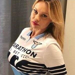 Anna Falchi S.S. Lazio