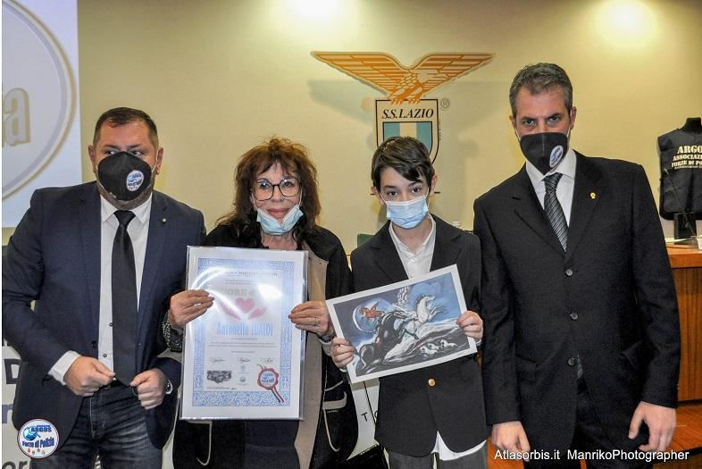 Antonella Lualdi - Cuore d'ORO 2021 - ARGOS Associazione Forze di POLIZIA