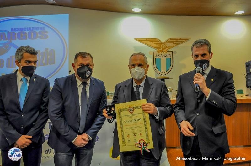 Claudio LOTITO Ambasciatore delle Buone Azioni 2021 - ARGOS
