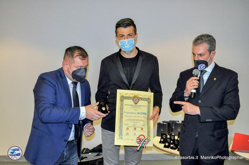 Francesco Acerbi S.S. Lazio - Ambasciatore delle Buone Azioni