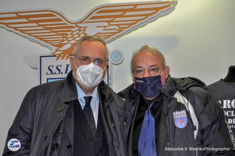Il Vice Presidente Nazionale Vicario ARGOS Associazione Forze di POLIZIA dr Terenzio D'Alena