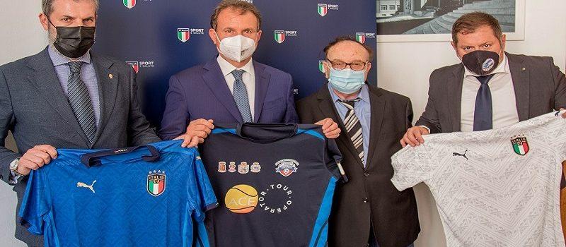 ARGOS Soccer TEAM Forze di POLIZIA incontra il Presidente di Sport e Salute Avv. Vito COZZOLI
