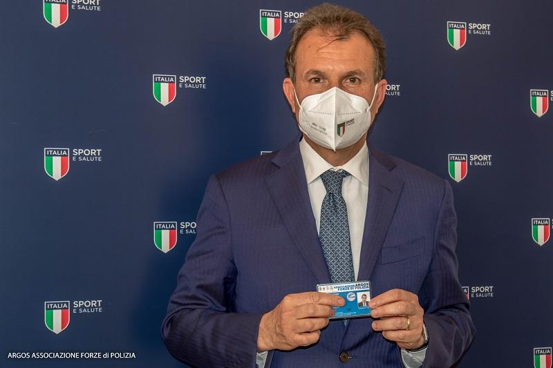 Avv. Vito COZZOLI socio onorario Associazione ARGOS Forze di POLIZIA