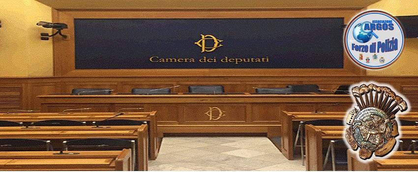 Conferenza Stampa Premio Internazionale d'Angiò 2021 - Camera Deputati - ARGOS Forze di POLIZIA