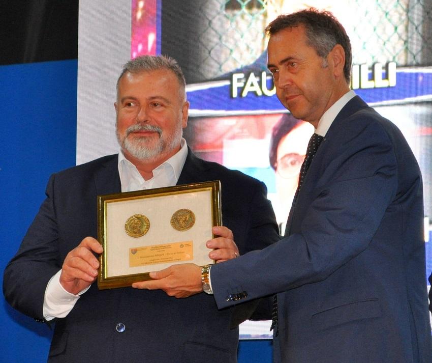 Premio Abbaziale per Associazione ARGOS - Premio Internazionale Carlo D'Angiò