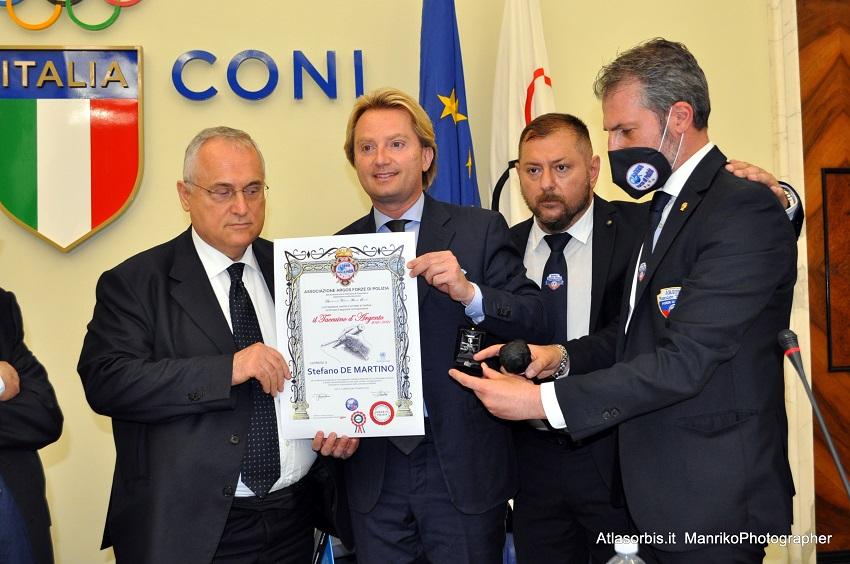 Stefano DE MARTINO S.S. Lazio - Taccuino d'Argento ARGOS Forze di POIZIA