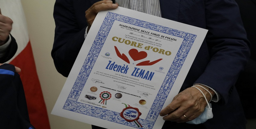 Cuore d'Oro ARGOS Forze di POLIZIA - Zdenek ZEMAN