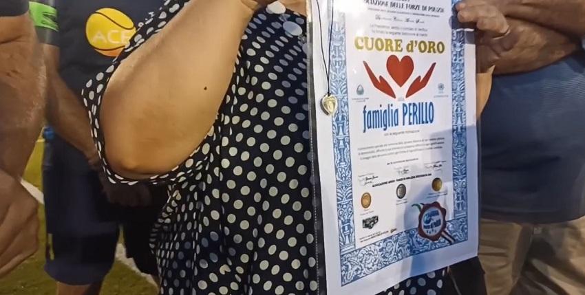 Cuore d'Oro Famiglia PERILLO - Foggia - ARGOS Forze di POLIZIA