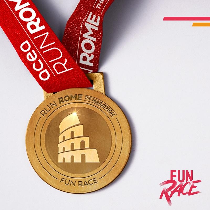 Madaglia Maratona di Roma 2021 - ARGOS Runner TEAM Forze di POLIZIA